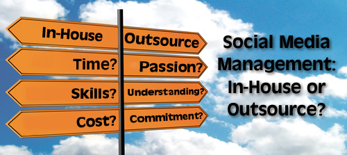 Social Media Management: In-House Vs. Outsourced