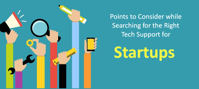 Tech Support for Startups – Points to Consider