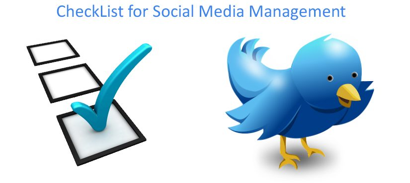Checklist for an Effective Social Media Management