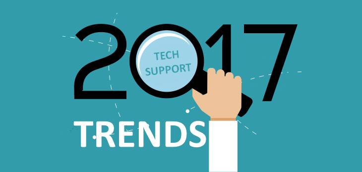 Trends That Will Define Tech Support in 2017