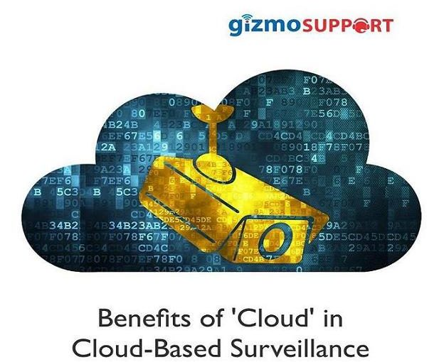 Benefits of 'Cloud' in Cloud-Based Surveillance
