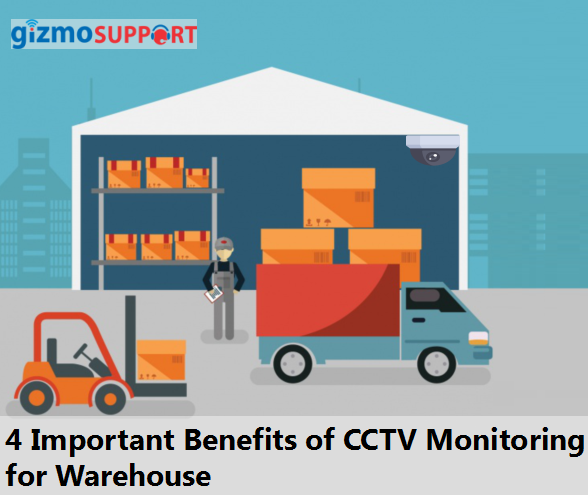 CCTV monitoring for warehouse