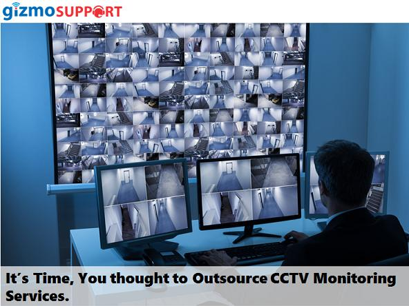 It's Time, You thought to Outsource CCTV Monitoring Services