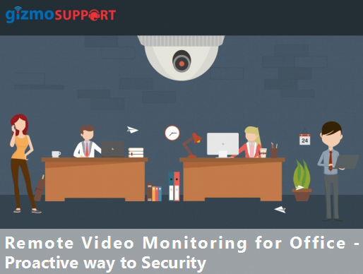 Remote Video Monitoring for Office – Proactive way to Security