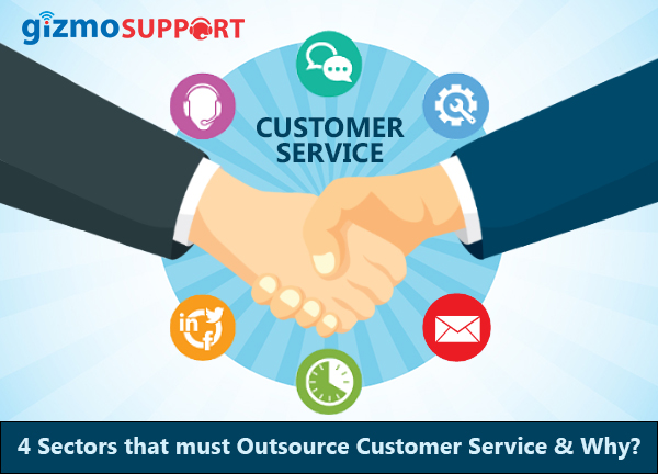 4 Sectors that must Outsource Customer Service & Why?